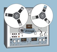 Reel Vintage Tape Deck by Matt Simner