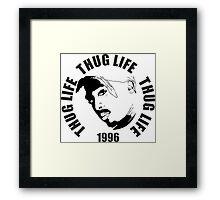 Thug Life 2pac Framed Print