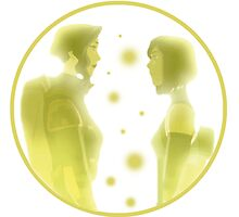 The Legend of Korra - Korra and Asami! Photographic Print