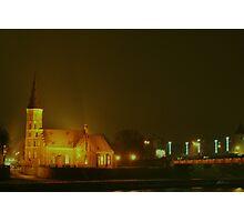 KAUNAS at NIGHT Photographic Print