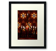 Where there is Light, there is Hope Framed Print