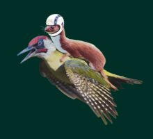 Flying Woodpecker Weasel Knievel Meme by O O