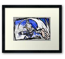 Sheik   Hatchet Framed Print