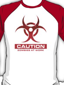 Zombie At Work T-Shirt