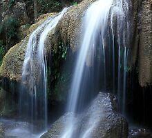Erawan falls by leksele