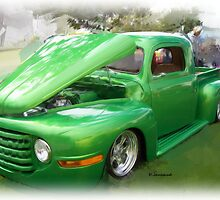 Green Ford Truck by ezcat