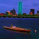 Boston, summer view by LudaNayvelt