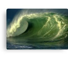 Waimea Bay Shorebreak Canvas Print