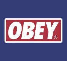 Obey Logo by TheOnlyPush