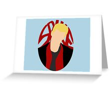 Spike Silhouette Greeting Card