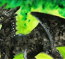 toothless by TinyNightmare