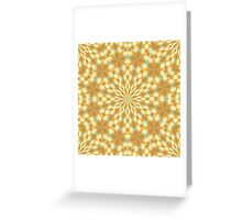 Lace of Flames Greeting Card