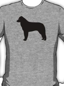 Kuvasz Dog Silhouette T-Shirt