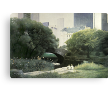 Summer Days(Central Park-New York City) Canvas Print