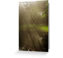 Morning Peace Sunrise Landscape Greeting Card
