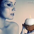 Flaming coco by Moijra