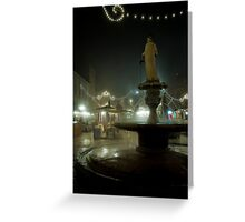 Piazza Della Erbe, Verona, Italy Greeting Card