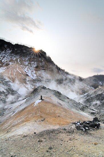 Hotspring at Hokkaido Japan by Aneurysm