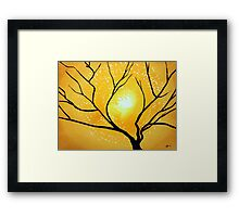 Low Country original painting Framed Print
