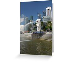 The Merlion Greeting Card