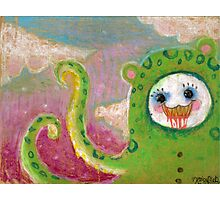 Snugga-slug original art Photographic Print