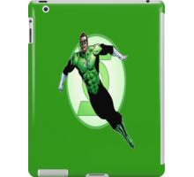 Hal Jordan, Power of Will. iPad Case/Skin