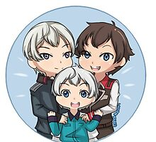 Valvrave Family by liloloveyou024