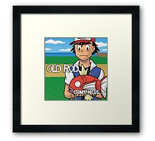 Old Rod - Crapiness Framed Print