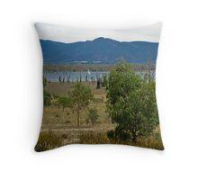 Sailing on Lake Fyans - Grampians Throw Pillow