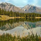 Johnson Lake, Banff by Amanda White