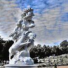 Garden statue at Sanssouci palace In Potzdam Germany by pdsfotoart