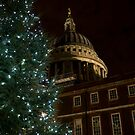 Festive St Pauls by Paul Wilkin