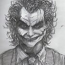 Joker Sketch by Andrew Pearce