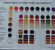 Palette for Flesh Tones and Portraits by degillett