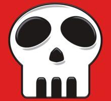 Cartoon Skull by BluAlien