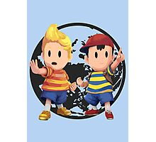 Ness and Lucas Photographic Print