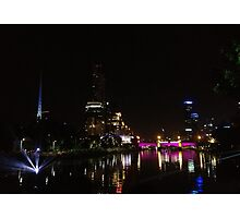 The City Of Melbourne Photographic Print