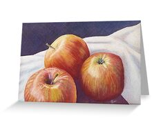 She'll Be Apples! Greeting Card