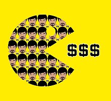 Manny Pacquiao - Eating Dollars by liam175