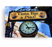 Pub Sign Canvas Print
