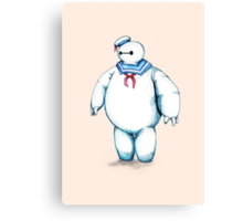 Bay Puft Marshmallow Max Canvas Print