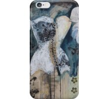 Black And White Corset iPhone Case/Skin