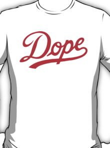 Dope Curve [Red] T-Shirt