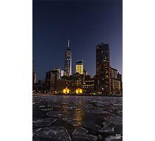 Frozen Sunset Photographic Print
