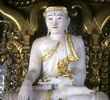Buddha, in village temple by cascoly