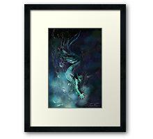 Blue Waters Framed Print