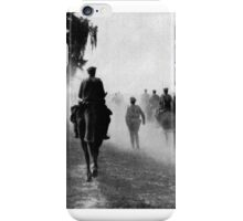 RUSSIAN 8-INCH GUNS (Model of 1877) ADVANCING TO THE POSITIONS. 1917 iPhone Case/Skin
