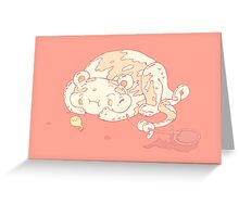 Candy game Greeting Card