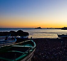 an island at the horizon by Andrea Rapisarda