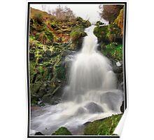 Dunsop Bridge Waterfall Poster
